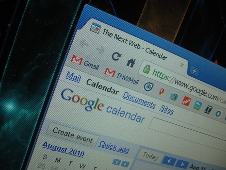 Google Calendar Sync: Now with Outlook 2010 support
