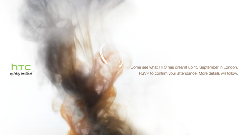 HTC Launch Event On 15th September, What Will We See? [Answer: HTC Desire HD]
