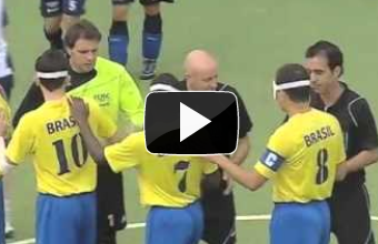 Amazing. IBSA World Blind Football Championship 2010 – The Final [video]