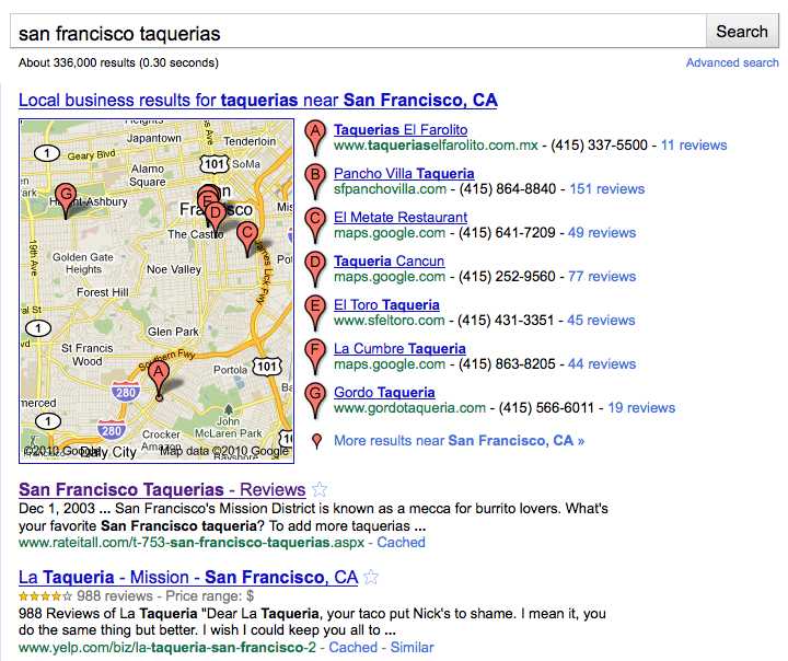 Picture 37 Google Places vs Facebook Places: It's Search vs. Social