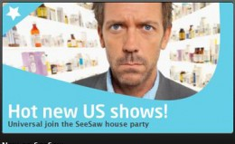 SEE SAW 260x159 SeeSaw lets you stream House, Heroes, 30 Rock and more for 99p