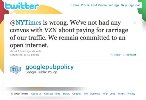 Screen shot 2010 08 05 at 16.52.24 500x344 Google Responds To Net Neutrality Concerns: The NY Times Are Wrong