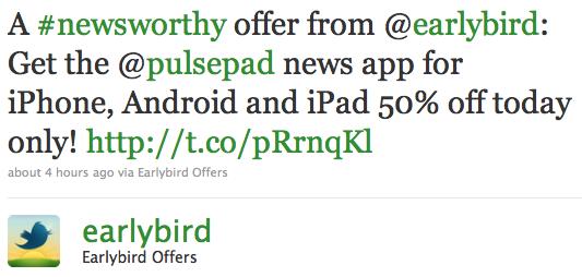 Twitter's Earlybird tweets its first international deal
