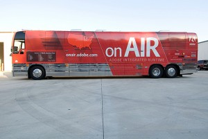 Adobe Air Bus