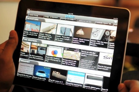 Pulse iPad app receives major updates including personal blog from Posterous.