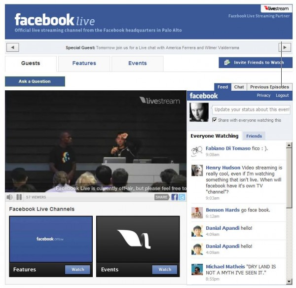 asdf1 600x584 Facebook takes on Ustream and Vokle with Facebook Live [Vokle responds]