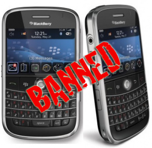 BlackBerry Ban has impact on businesses across the globe but for concentrated in some of the worlds oil rich countries