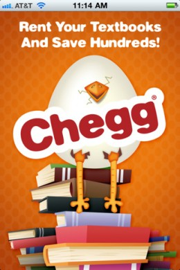 chegg1 260x390 Chegg iPhone app lets students search and scan their way to textbook savings.