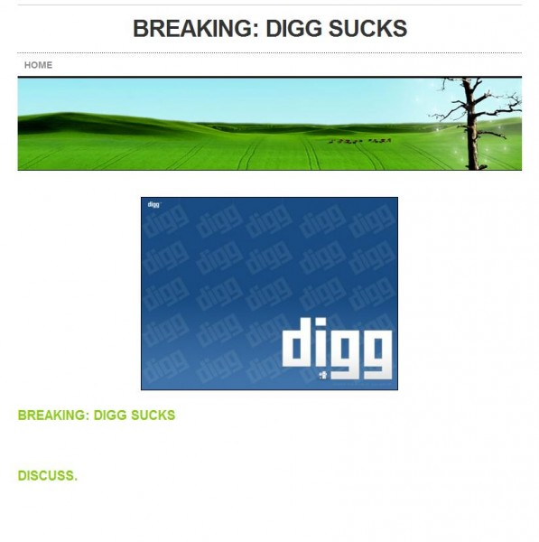 digg ha1 597x600 Weebly (User) Protests The New Digg In Rare Form