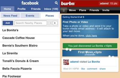 facebook burbn Where Are All the Location Web Apps?