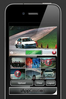 fcam2 260x390 Upload multiple Facebook photos fast and for free with fCam.