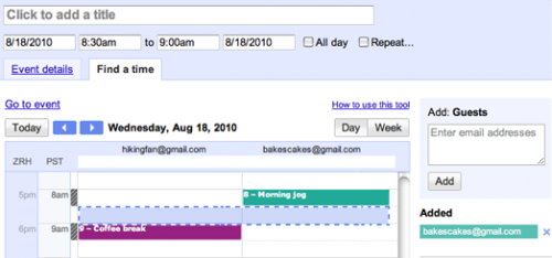 find a time 500x234 New changes to Google Events could be another piece to Googles social network puzzle