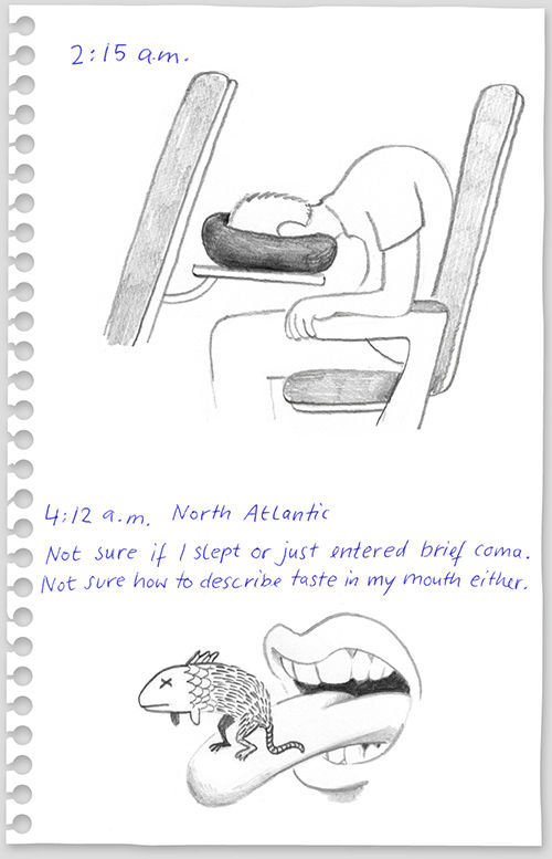 funny drawings from 640 high 08 What to do on a flight from New York to Berlin?