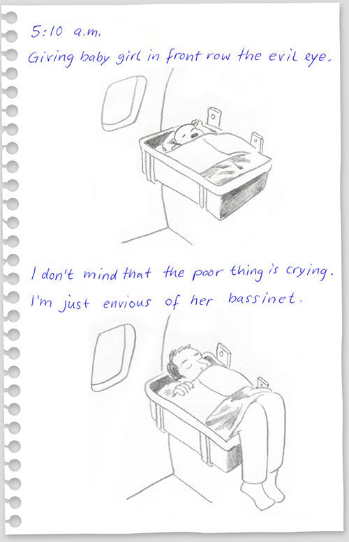 funny drawings from 640 high 09 What to do on a flight from New York to Berlin?