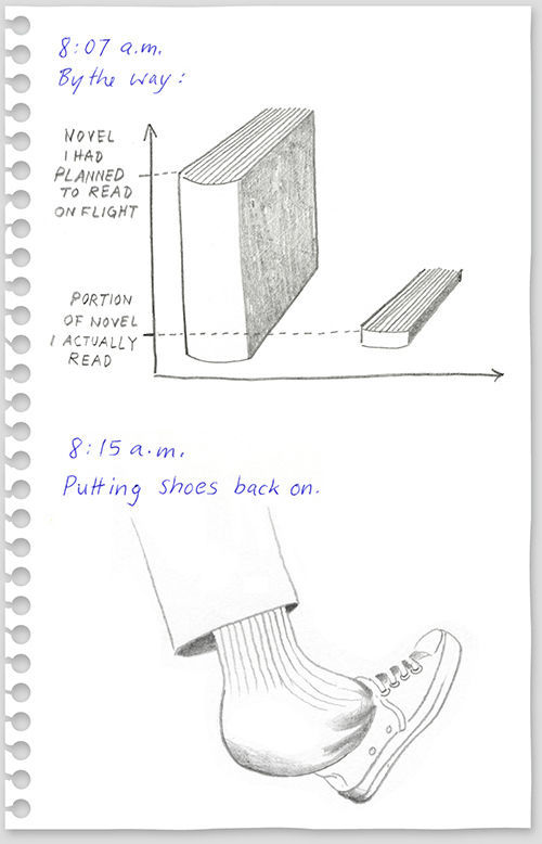 funny drawings from 640 high 11 What to do on a flight from New York to Berlin?