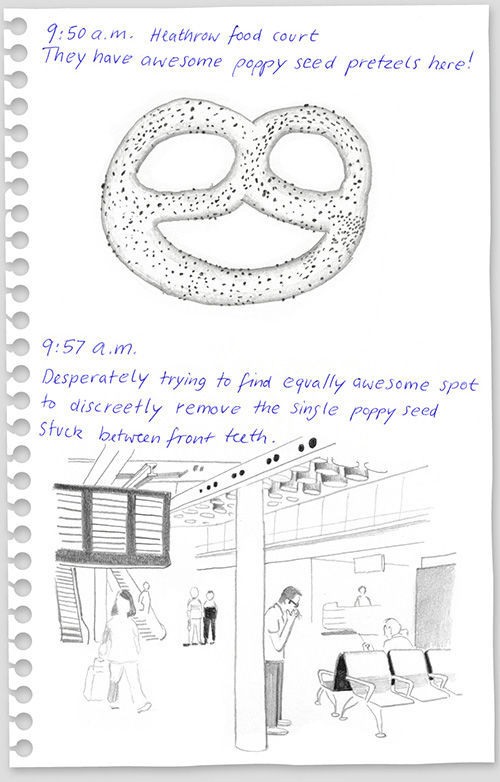 funny drawings from 640 high 13 What to do on a flight from New York to Berlin?