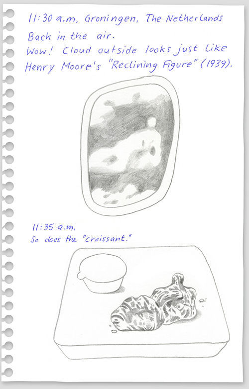 funny drawings from 640 high 14 What to do on a flight from New York to Berlin?