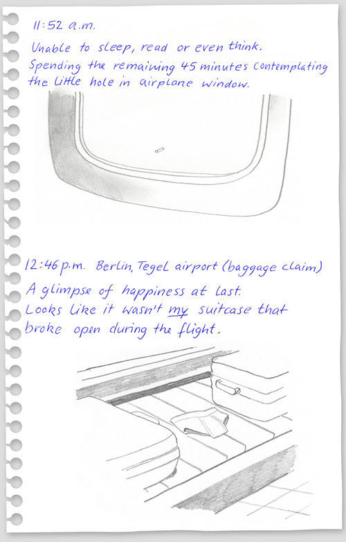 funny drawings from 640 high 15 What to do on a flight from New York to Berlin?