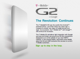 g2 260x192 T Mobile Officially Announces Its First HSPA+ Handset: The T Mobile G2
