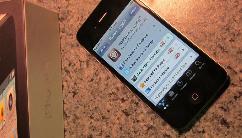 updating jailbroken iphone 4