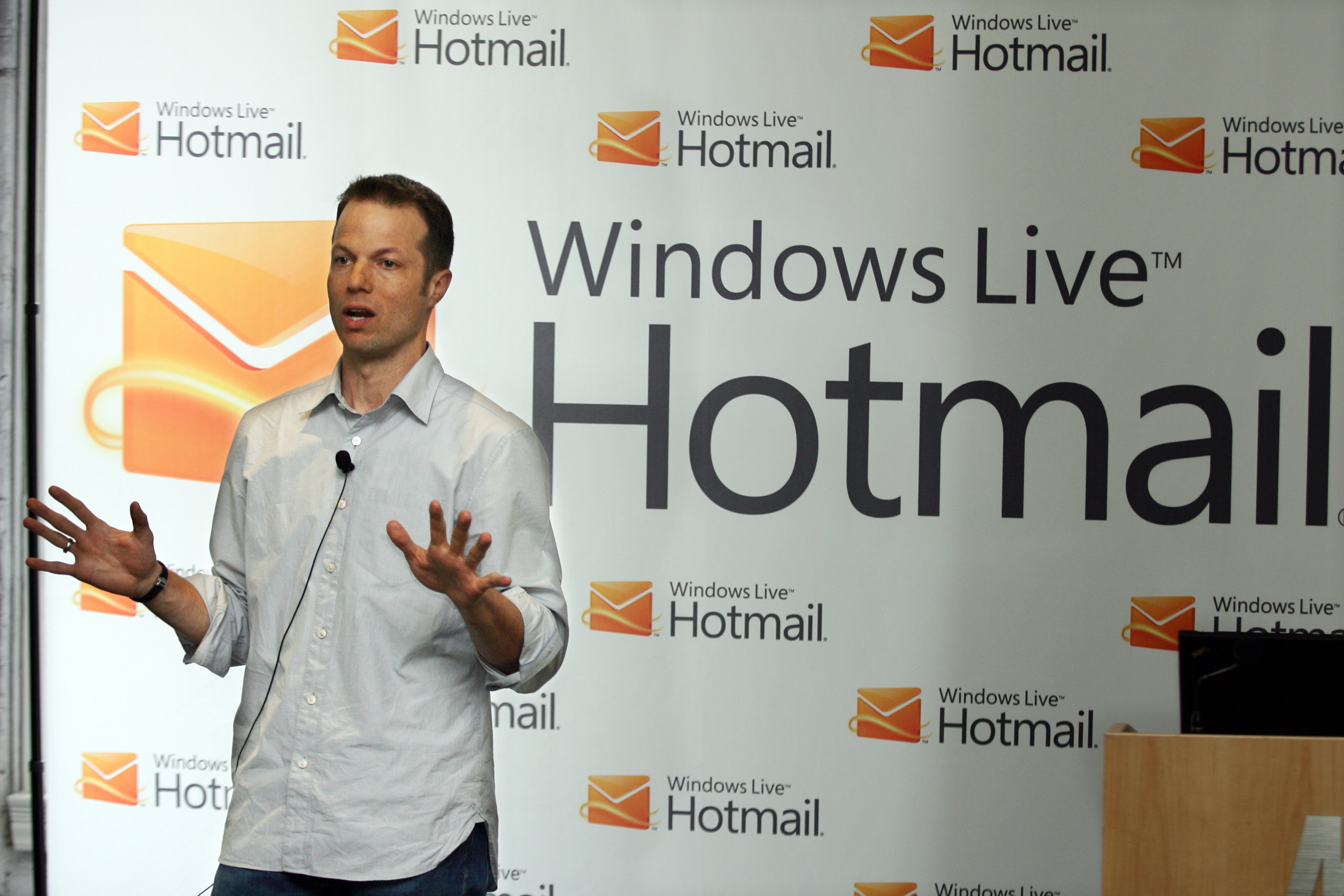 The new Hotmail has just rolled out for all.