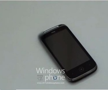 HTC Windows Phone 7 Handset Leaked To Video