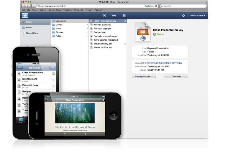 iDisk user? You can now stream your music to your iPhone.