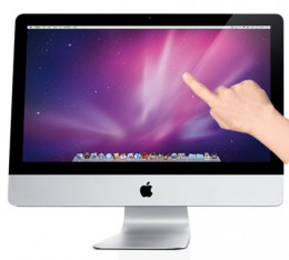 imac touch 260x234 Apple looks to patent iMac Touch, features both OS X and iOS?