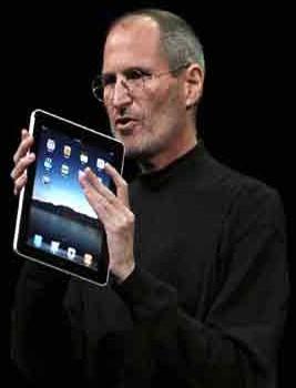 iPad in The Hands of Steve Jobs