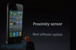 iphone 4 proximity sensor issue 500x331 260x172 Apple confirms iPhone 4 proximity sensor glitch still not patched