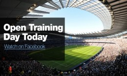 mcfc training 260x156 Manchester City FC trials social live video stream on Facebook