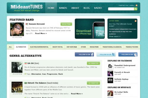 Screenshot of MideasTunes