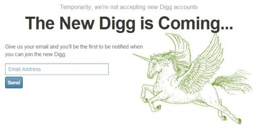 new digg 500x258 The New Digg Cometh?