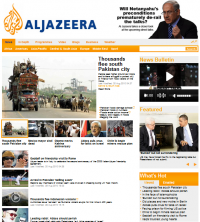 New and improved AlJazeera English Homepage
