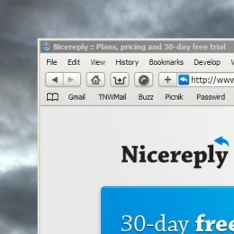 nrmain 260x260 Nicereply turns your email into a customer service feedback system.