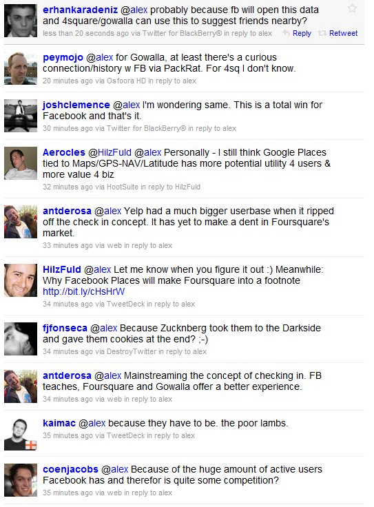 responses Why I Deleted Foursquare For Good