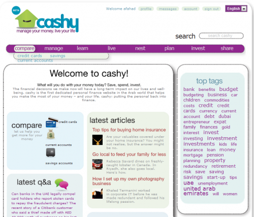 Cashy.me Screenshot