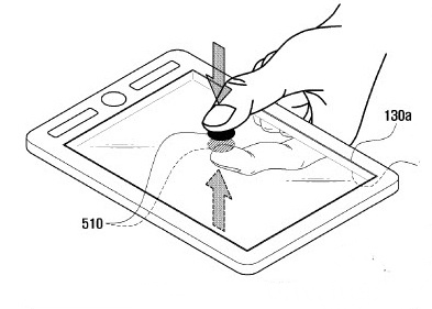 Samsung Patents Idea For Tablet With Front And Back Touchscreens