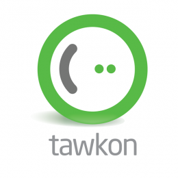 tawkon logo vertical white 260x260 tawkon measures the amount of radiation that your phone produces.