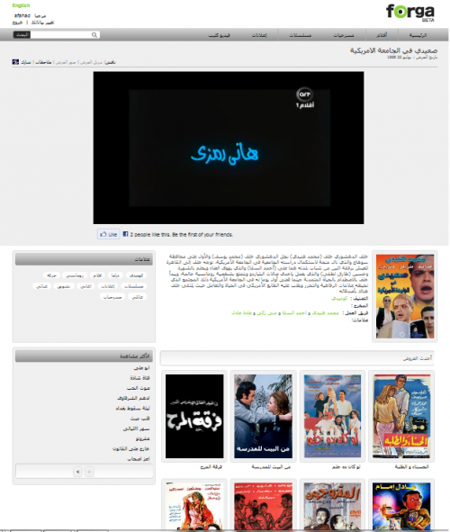 Play Video Interface