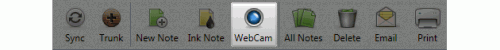 webcam bar 500x50 Evernote For Windows Adds WebCam Note Taking