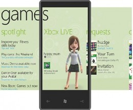 windows phone 7 games hub THUMB 260x215 Samsung GT i8700 Windows Phone 7 Handset Leaks