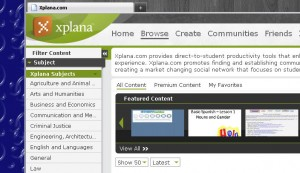 xplana 300x173 Xplana launches free, online, collaborative educational tools.
