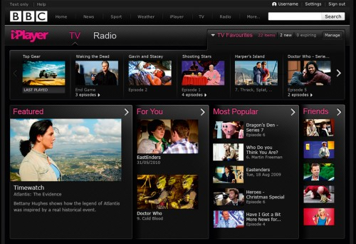 02 Favourites 1200 thumb 1200x821 54383 500x342 New look BBC iPlayer set to launch within days