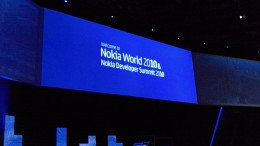 105 0016 260x146 Live from the Nokia World opening keynote