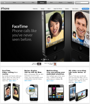 Apple iphone screenshot e1285053065642 FaceTime Removed from All MENA iPhone Pages