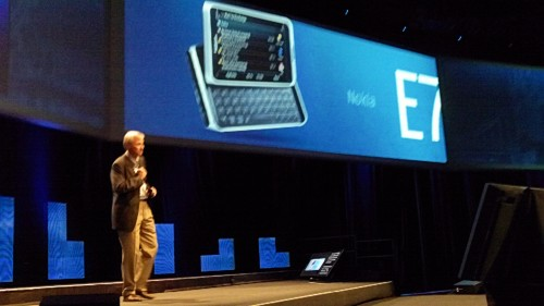 E7 500x281 Live from the Nokia World opening keynote