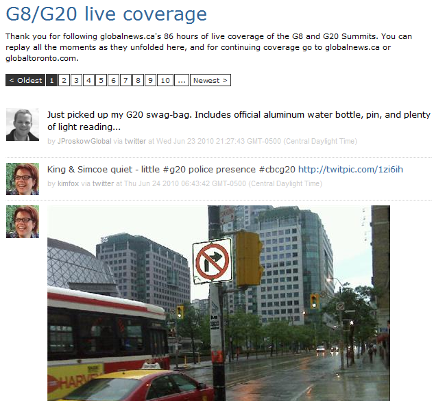 G201 ScribbleLive: Changing the game of live blogging