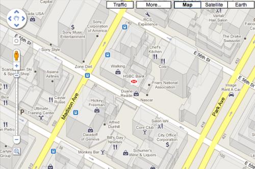 HSBC 500x332 Google Puts Brand Logos Into Maps