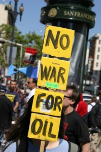 No War for Oil 199x300 Iraq Resistance Behind 10% of Global Spam last Thursday